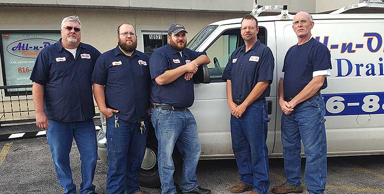 Why choose All-n-One Plumbing? Call us for prompt, efficient plumbing services today