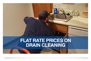 Flat Rate Prices on Drain Cleaning
