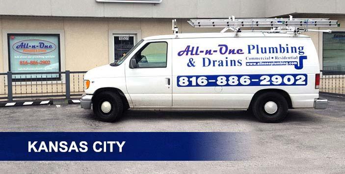 kansas city plumber service van